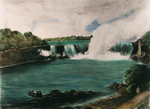 (Thumbnail) The Horseshoe Fall, Niagara, from the Canadian Ferry Landing (image/jpeg)