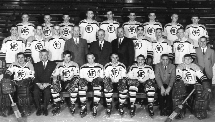 Niagara Falls Flyers Hockey Team Memorial Cup Champions 1964- 1965 (image/jpeg)