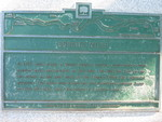 (Thumbnail) Close up of Burch's Mill plaque near the scow (image/jpeg)