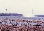 (Thumbnail) Mist from the Horseshoe Falls with both the Minolta and the Skylon Towers in the Background (image/jpeg)