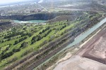 (Thumbnail) Aerial View of Sir Adam Beck Hydro Canal, the Lower Niagara River and the Whirlpool Golf Couse (image/jpeg)