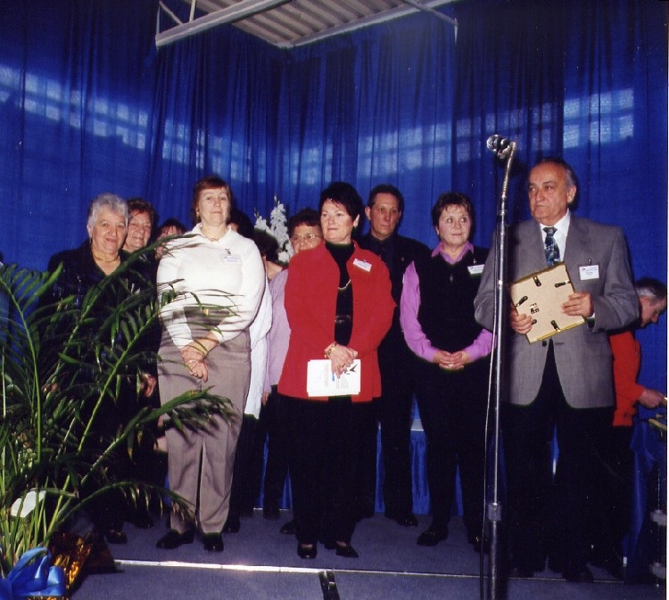 13th annual Sports Wall of Fame Induction Ceremony - sponsor award - GNBA Ladies Auxiliary (image/jpeg)