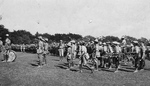 (Thumbnail) Canadian Expeditionary Forces on Route March Leaving Queenston Heights for Camp Niagara (image/jpeg)