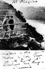(Thumbnail) Winston Churchill and daughter Mary in the Niagara Gorge (image/jpeg)