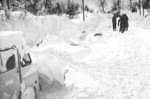 (Thumbnail) Blizzard of 77 - locating buried cars outside of Concessi's Store Wainfleet (image/jpeg)