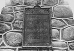 (Thumbnail) Close-up of the Inscription on the Battle of Fort George Cairn - Niagara-on-the-Lake (image/jpeg)