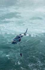 """(Thumbnail) Helicopter in the Gorge above the Niagara River during filming of the Movie """"The Long Kiss Goodnight"""" (image/jpeg)"""