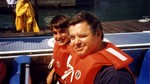 (Thumbnail) American actor Robert Urich and son Ryan try Whirlpool Jet Boat Tours Niagara (image/jpeg)