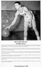 (Thumbnail) Niagara Falls Sports Wall of Fame - Howard Triano Athlete Basketball era 1951 - 1970 (image/jpeg)