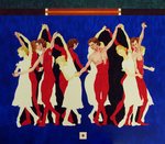 (Thumbnail) Dancers, Six Girls in White Six Boys in Red (image/jpeg)