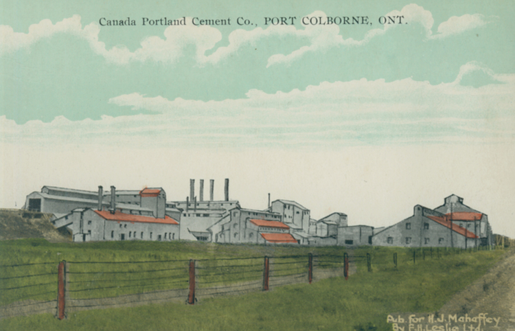 Port Colborne (ON) Canada  City new picture : Canada Portland Cement Co [Company] Port Colborne Ont [Ontario] image ...