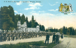 (Thumbnail) CE [Canadian Expeditionary Forces] recruits marching to Queenston Heights Canada (image/jpeg)