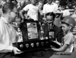 (Thumbnail) 1st annual Optimist Club Soap Box Derby 1958 - fist champion Rick MacArthur (image/jpeg)
