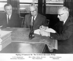 (Thumbnail) Lewiston-Queenston Bridge - signing of the contracts (image/jpeg)