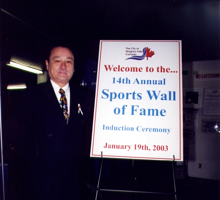 14th annual Sports Wall of Fame induction ceremony - Alderman Kim Craitor (image/jpeg)