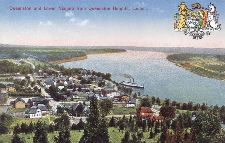 Queenston and the Lower Niagara from Queenston Heights (image/jpeg)