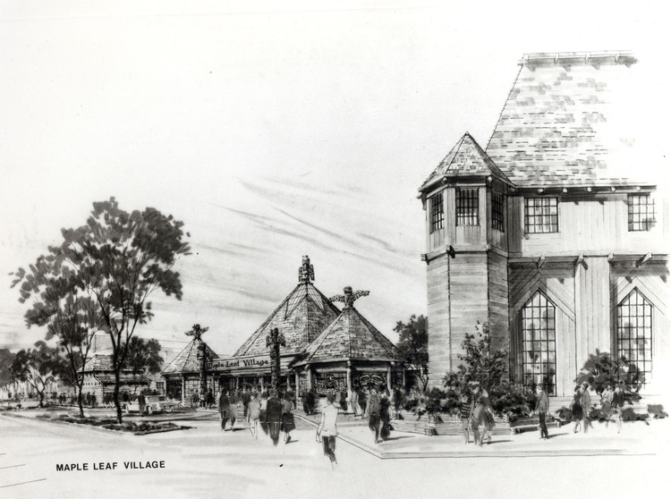 Architectural Renderings of Maple Leaf Village (image/jpeg)