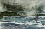 (Thumbnail) Horseshoe Fall and Goat Island Seen from Table Rock (image/jpeg)