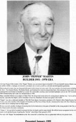 (Thumbnail) Niagara Falls Sports Wall of Fame - John (Pepper) Martin Builder baseball era 1951 - 1970 (image/jpeg)