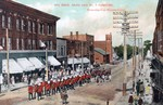 (Thumbnail) 36th Regt. [Regiment] Band and No. 7 Company returning from Niagara Camp (image/jpeg)