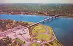 (Thumbnail) Aerial View of the World Famed Peace Bridge (image/jpeg)