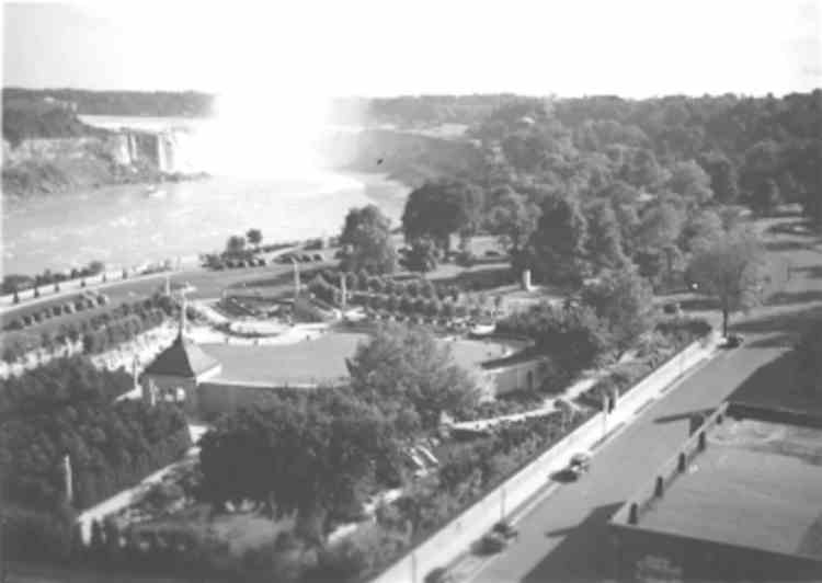 An Aerial View Of Oakes Garden Theater And The Horseshoe