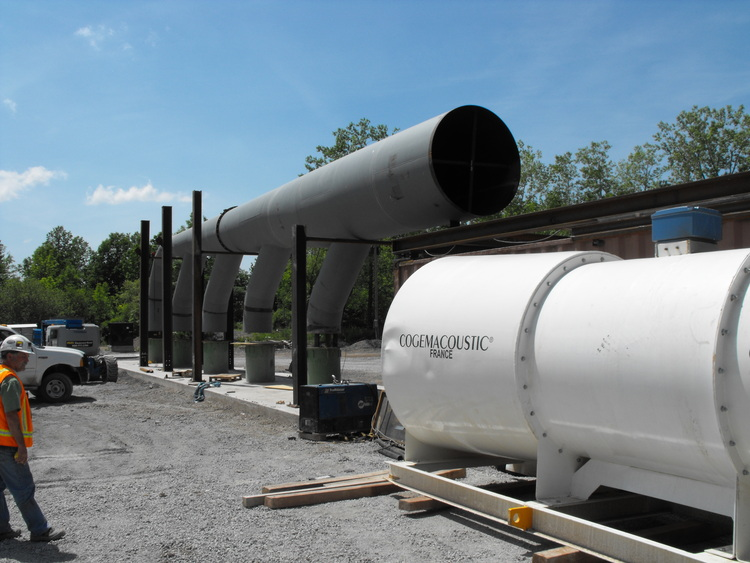 Niagara Tunnel Project - Air filtration units ready to be assembled on site. (image/jpeg)