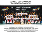 Chippawa Junior 'C' RiverHawks O.H.A. Champions 2001